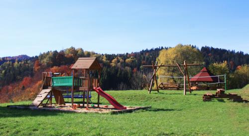 Plac Zabaw jesienią
